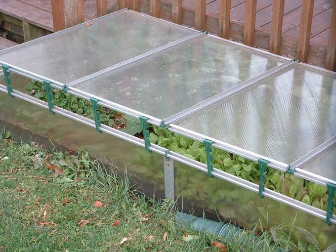 Cold Frame Garden Winter Wear