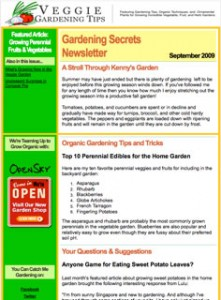 Gardening Secrets Newslette 221x300 A New HTML Look for the Gardening Secrets Newsletter