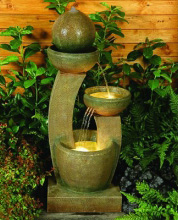 Friendship Fountain Water Features to Accent the Home Garden