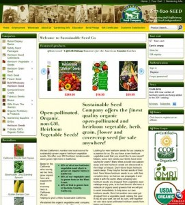 Sustainable Seed Site 271x300 Are Seed Catalogs Growing Obsolete?