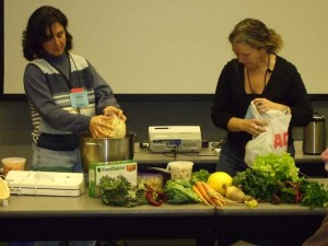 Food Prep Workshop 300x225 2011 PASA Conference: Strength from Our Roots
