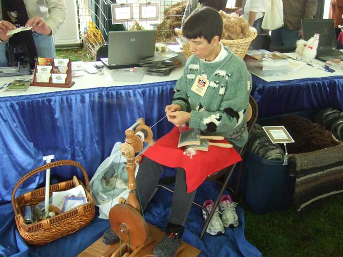 Fiber Crafting Experiencing the Mother Earth News Fair