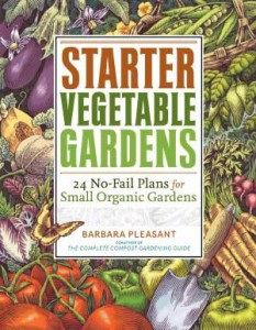 Starter Vegetable Gardens Book Cover