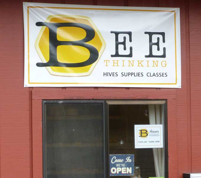 Bee Thinking Storefront