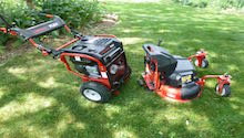 FLEX Power Base and Mower